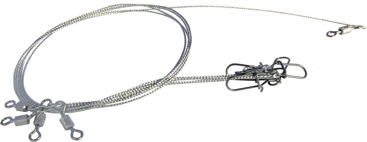 Поводок Точка Лова, ферронихромовый, 4 шт. ПФХ-15-15