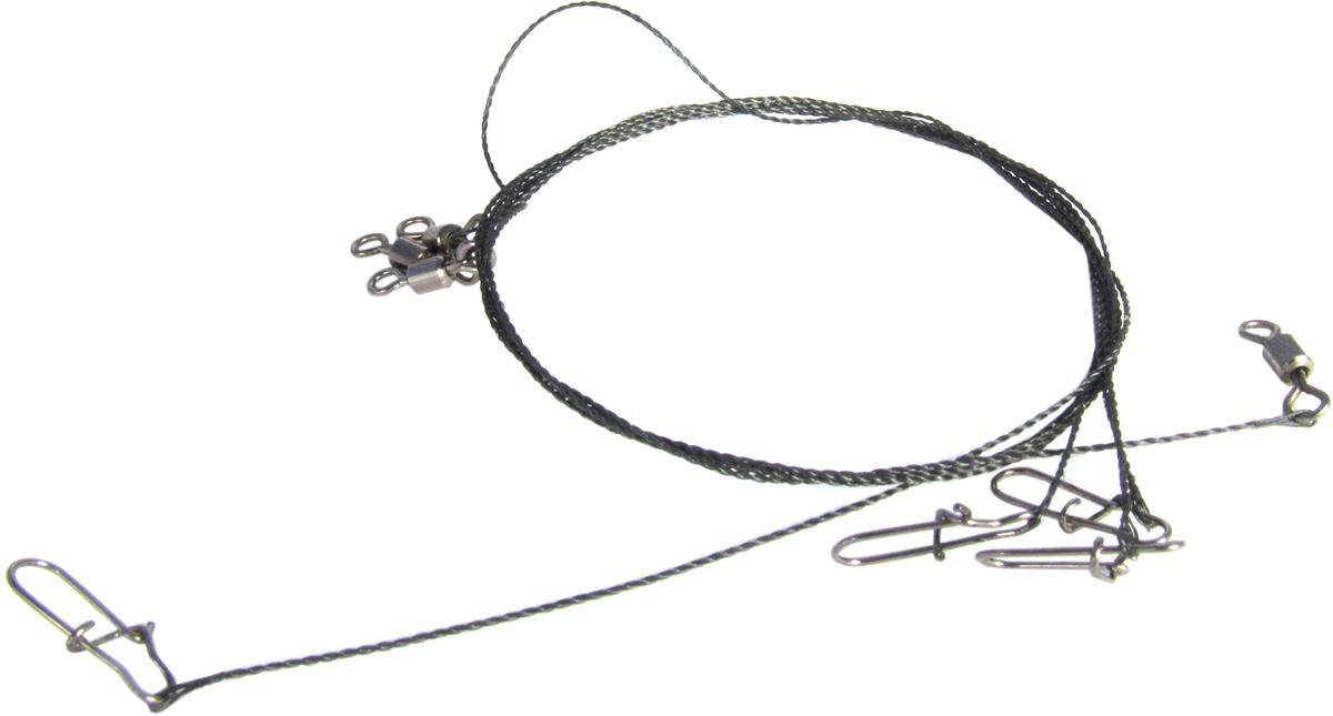 Поводок Точка Лова, вольфрамовый, 3 шт. ПВ-30-40ТЛ поводок точка лова вольфрамовый 4 шт пв 20 15тл