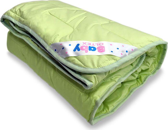 OL-Tex Одеяло детское Baby цвет зеленый 110 х 140 см одеяло марсель ol tex облегченное 200х220 см