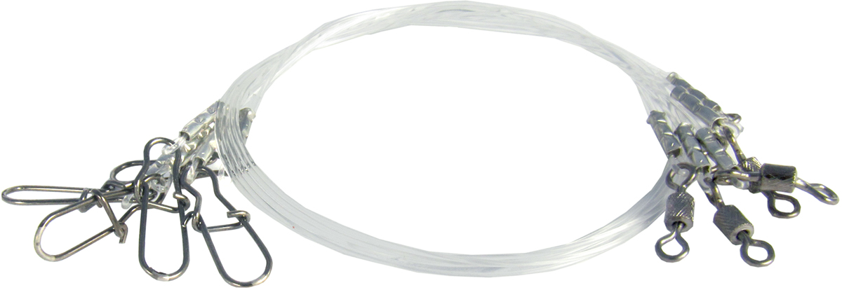 Поводок Точка Лова, флюорокарбоновый, 5 шт. ПФ-7-15ТЛ