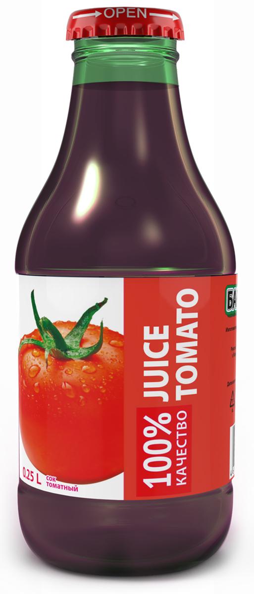 Barinoff Сок Томатный с солью, 0,25 л 4 сезона сок томатный 1 л