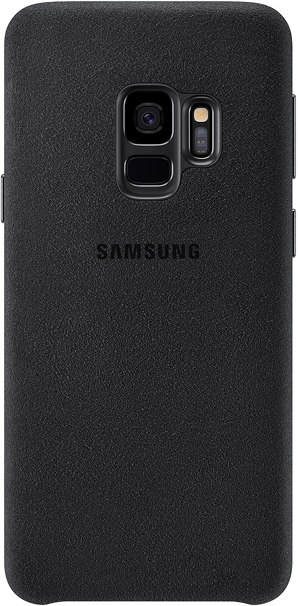 Samsung Alcantara Cover чехол для Galaxy S9, Black