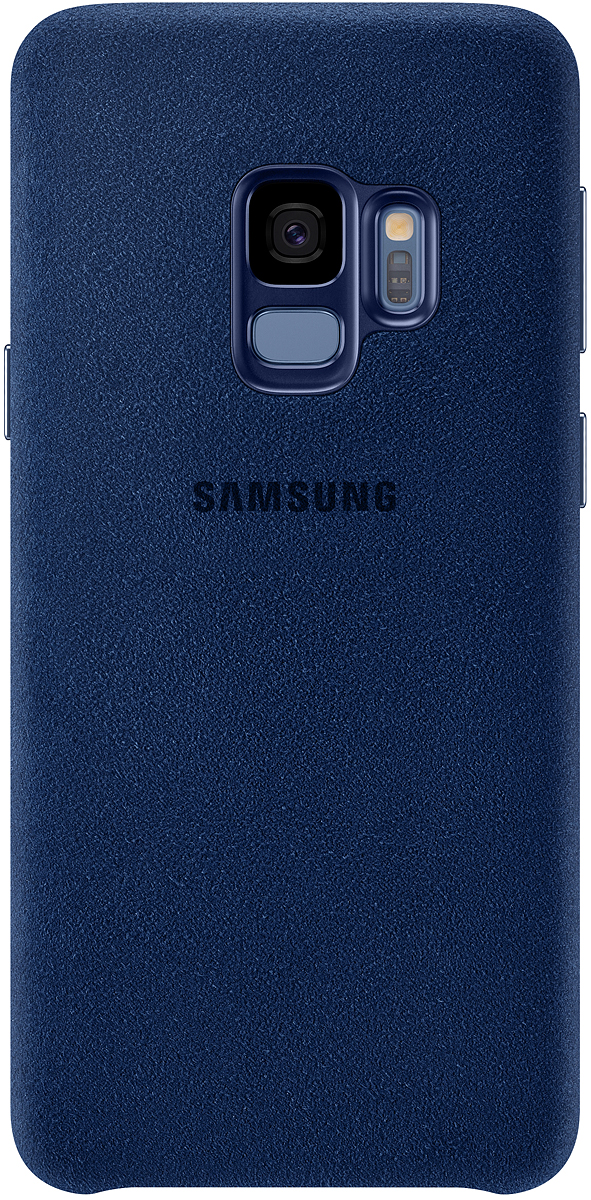 Samsung Alcantara Cover чехол для Galaxy S9, Blue gangxun samsung s9 blue
