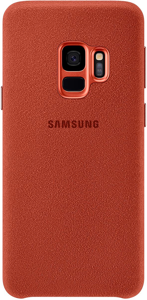 Samsung Alcantara Cover чехол для Galaxy S9, Red