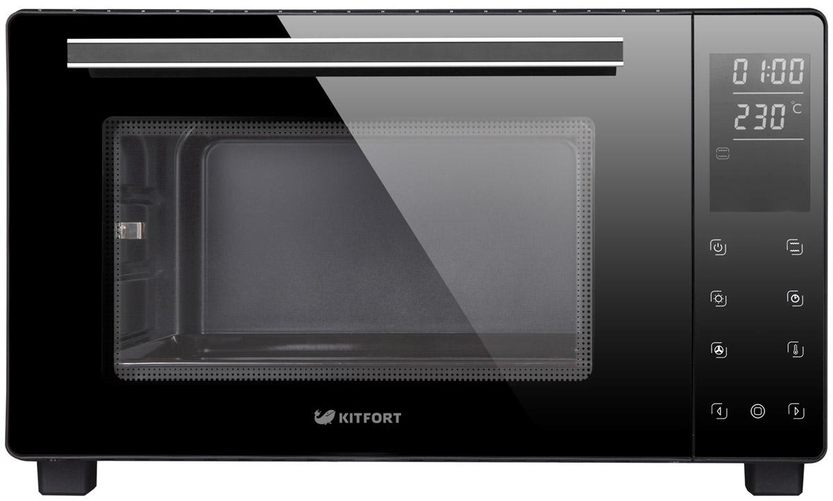Мини-печь Kitfort KT-1707, Black