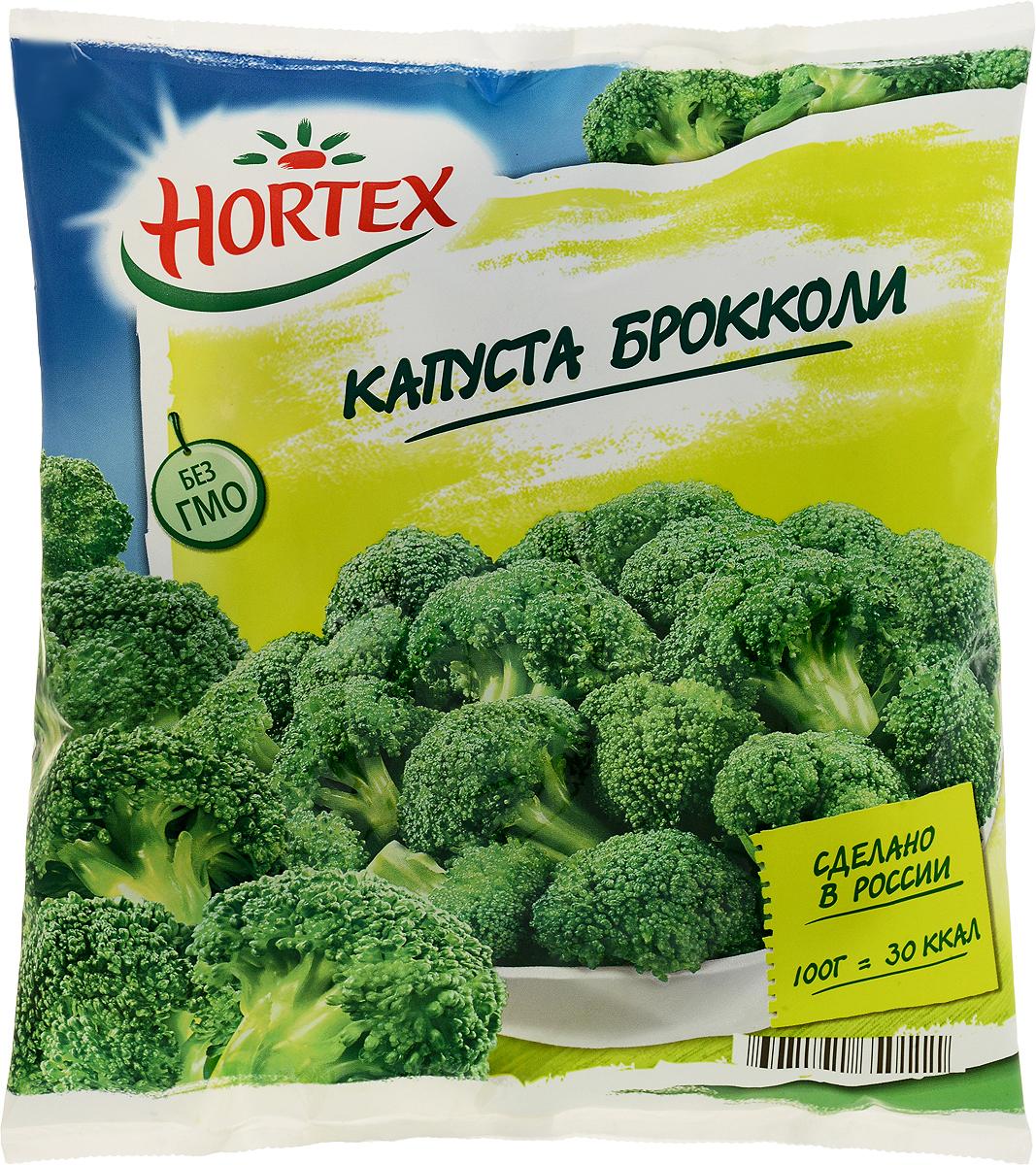 Hortex Капуста брокколи, 400 г кружево вкуса капуста брокколи 400 г