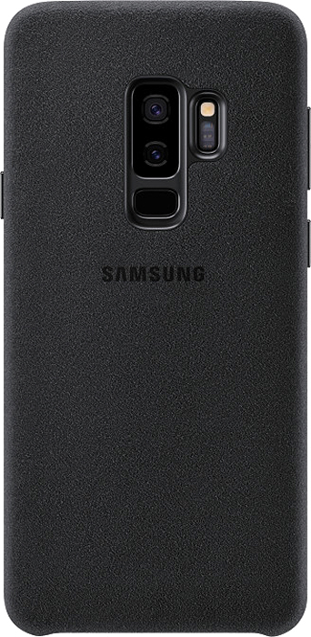 Samsung Alcantara Cover чехол для Galaxy S9+, Black