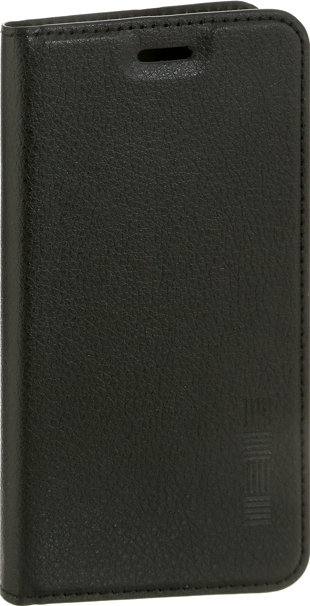 Interstep Is Vibe чехол для Xiaomi RedMi 4X, Black красный дизайн кожа pu откидная крышка бумажника карты держатель чехол для xiaomi redmi 2 2a