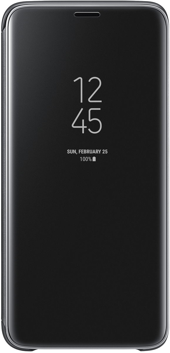 Samsung EF-ZG965 Clear View Standing чехол для Galaxy S9+, Black скачать обои для samsung