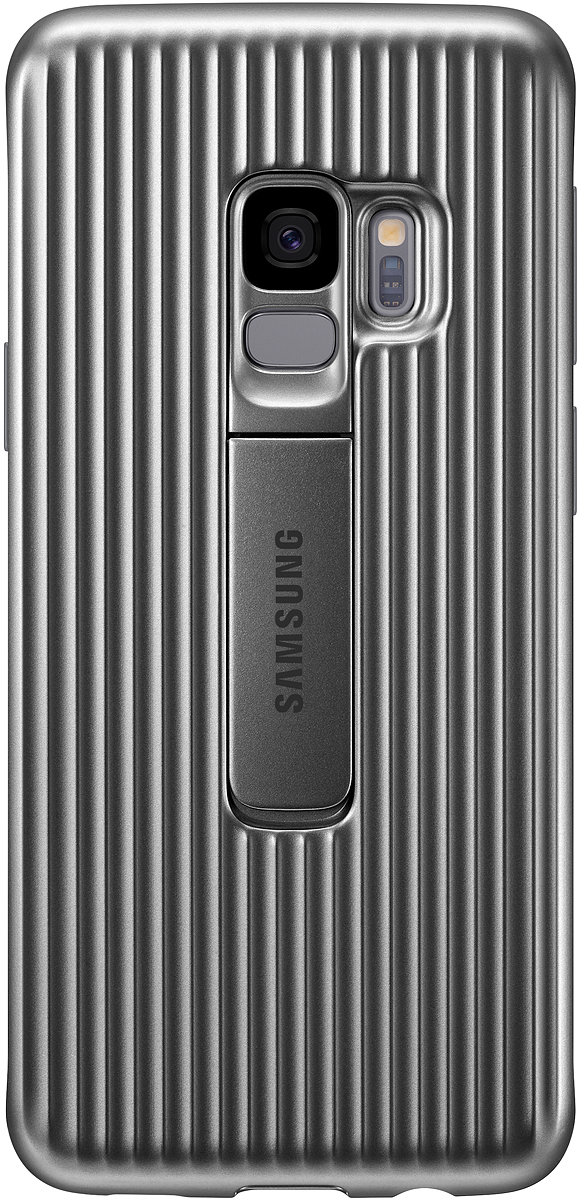 Samsung Protective Standing чехол для Galaxy S9, Silver