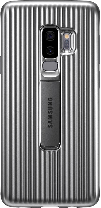 Samsung Protective Standing чехол для Galaxy S9+, Silver