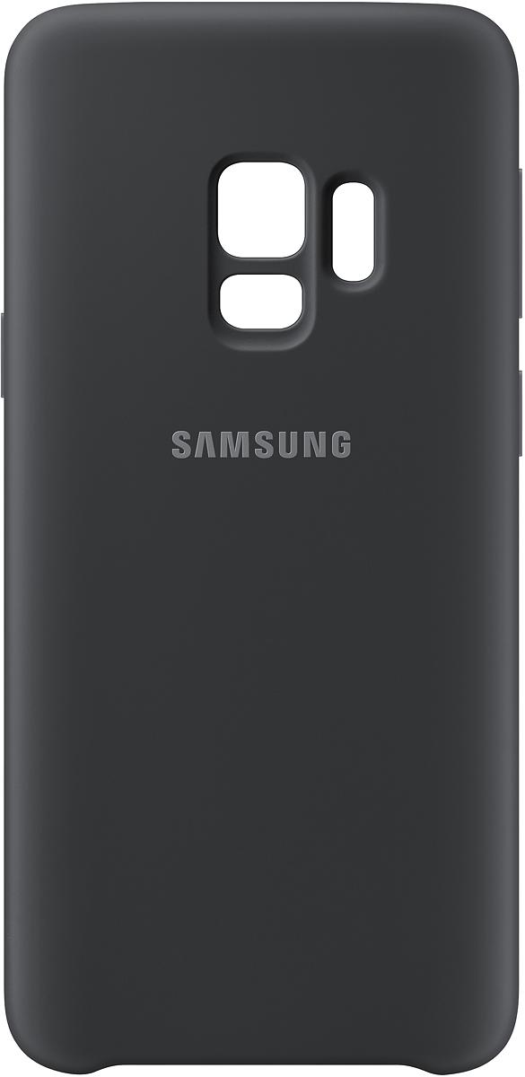 Samsung Silicone Cover чехол для Galaxy S9, Black