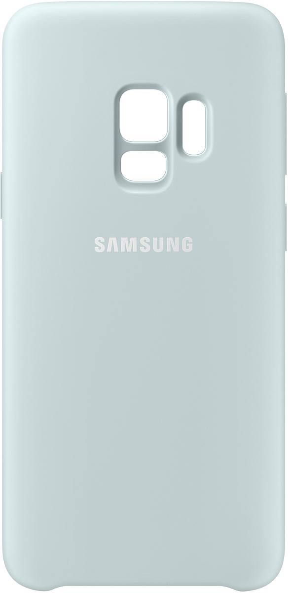 Samsung Silicone Cover чехол для Galaxy S9, Blue