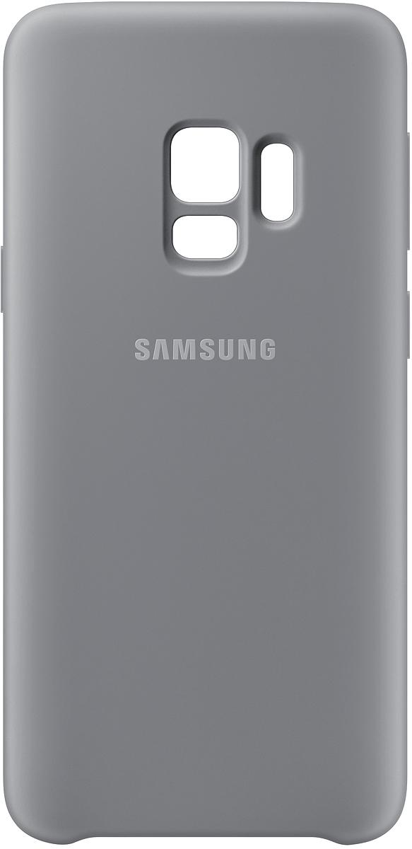 Samsung Silicone Cover чехол для Galaxy S9, Gray