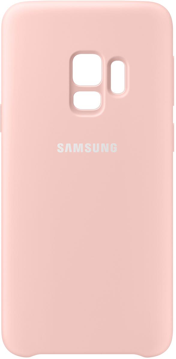 Samsung Silicone Cover чехол для Galaxy S9, Pink