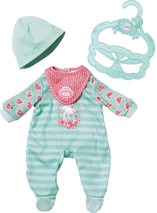 Zapf Creation Одежда для куклы My first Baby Annabell zapf creation одежда для куклы my first baby annabell zapf creation розового цвета 36 см