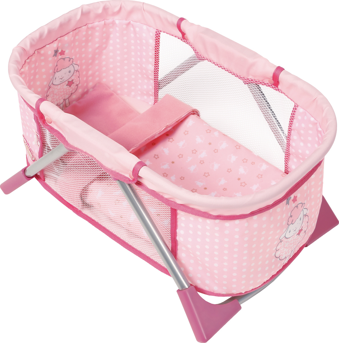 Zapf Creation Кроватка для куклы Baby Annabell игрушка baby annabell кроватка спокойной ночи кор