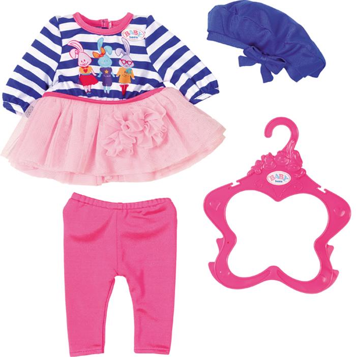 Zapf Creation Одежда для куклы BABY born В погоне за модой цена
