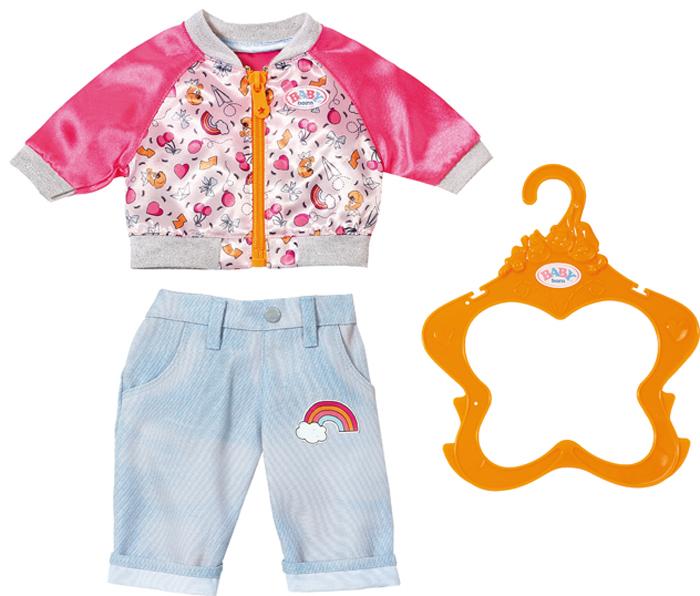 Zapf Creation Одежда для куклы BABY born 824-542 zapf creation одежда для куклы baby born 824 566 цвет розовый