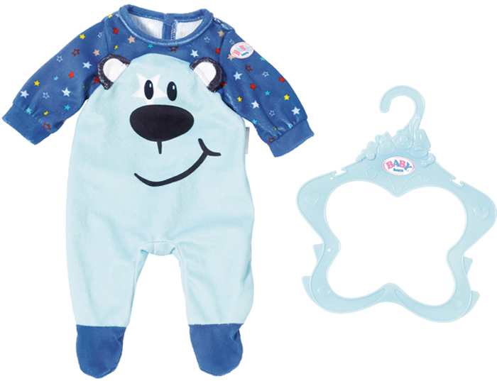 Zapf Creation Одежда для куклы BABY born цвет в ассортименте 824-566 zapf creation одежда для куклы baby born 824 566 цвет розовый
