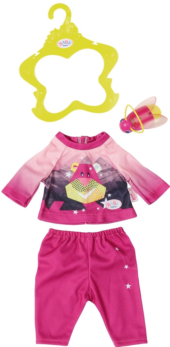 Zapf Creation Одежда для куклы BABY born Удобный костюмчик  светлячок-ночник