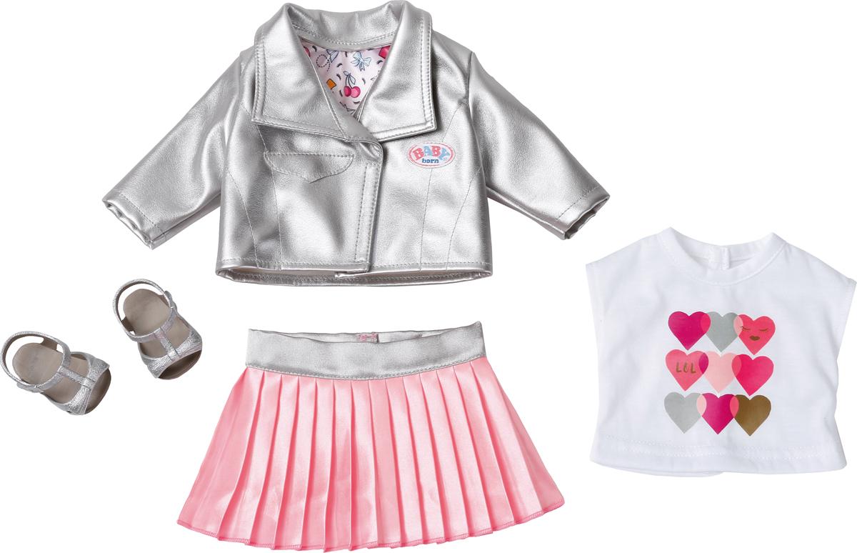Zapf Creation Одежда для куклы BABY born Законодательница моды цена