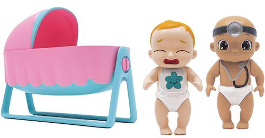 Zapf Creation Игровой набор BABY Secrets С колыбелью набор baby secrets с лошадкой качалкой