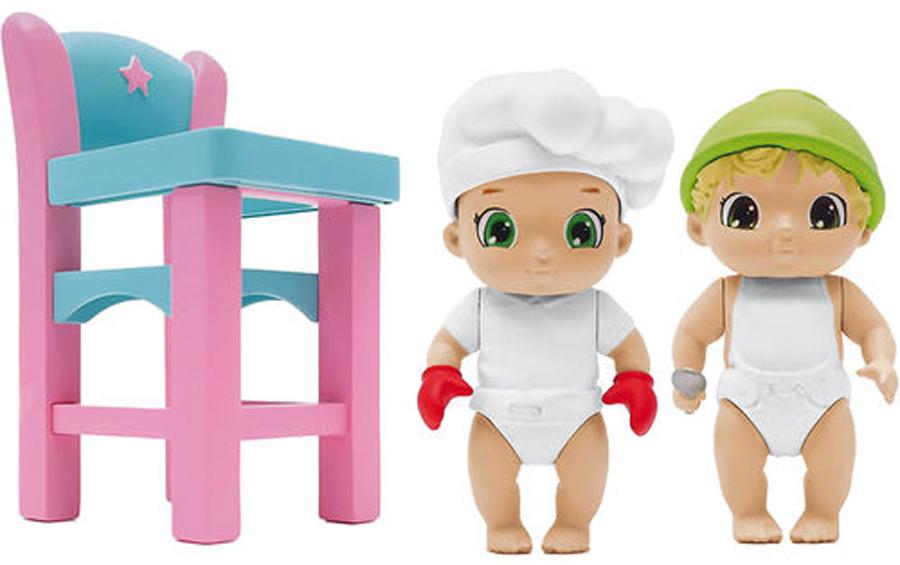 Zapf Creation Игровой набор BABY Secrets С детским стульчиком набор baby secrets с лошадкой качалкой