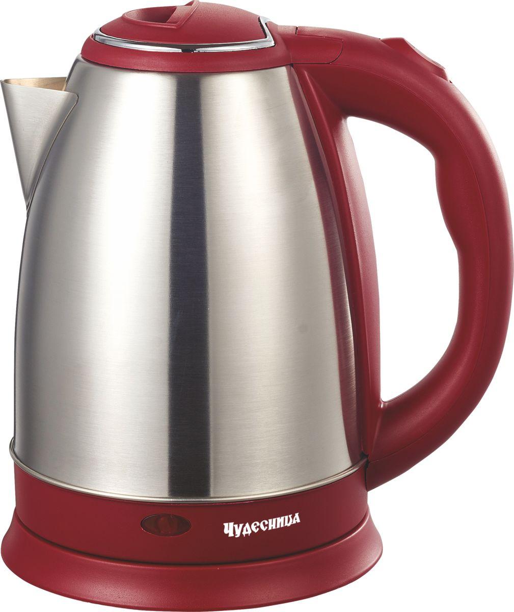 Электрический чайник Чудесница ЭЧ-2019, Red чайник чудесница эч 2004 brown