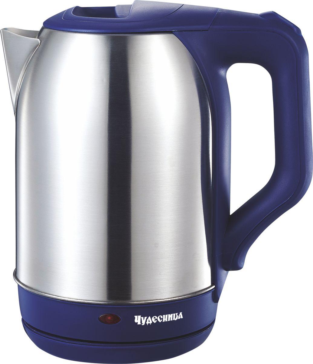 лучшая цена Электрический чайник Чудесница ЭЧ-2020, Blue