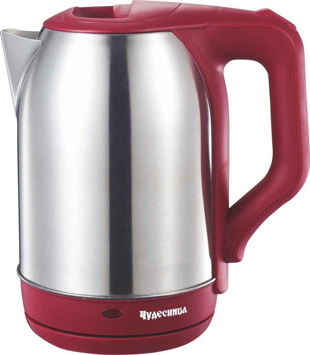 лучшая цена Электрический чайник Чудесница ЭЧ-2023, Red