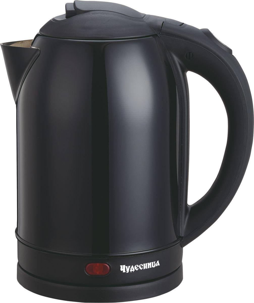 Электрический чайник Чудесница ЭЧ-2026, Black чайник чудесница эч 2004 brown