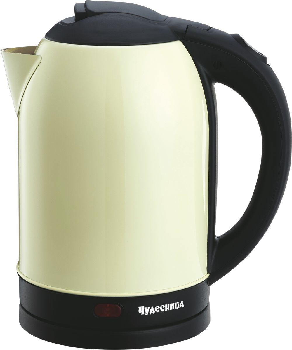 лучшая цена Электрический чайник Чудесница ЭЧ-2027, Ivory