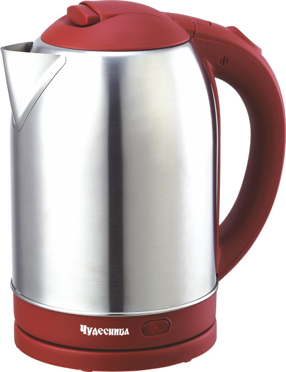 Электрический чайник Чудесница ЭЧ-2031, Red чайник чудесница эч 2004 brown