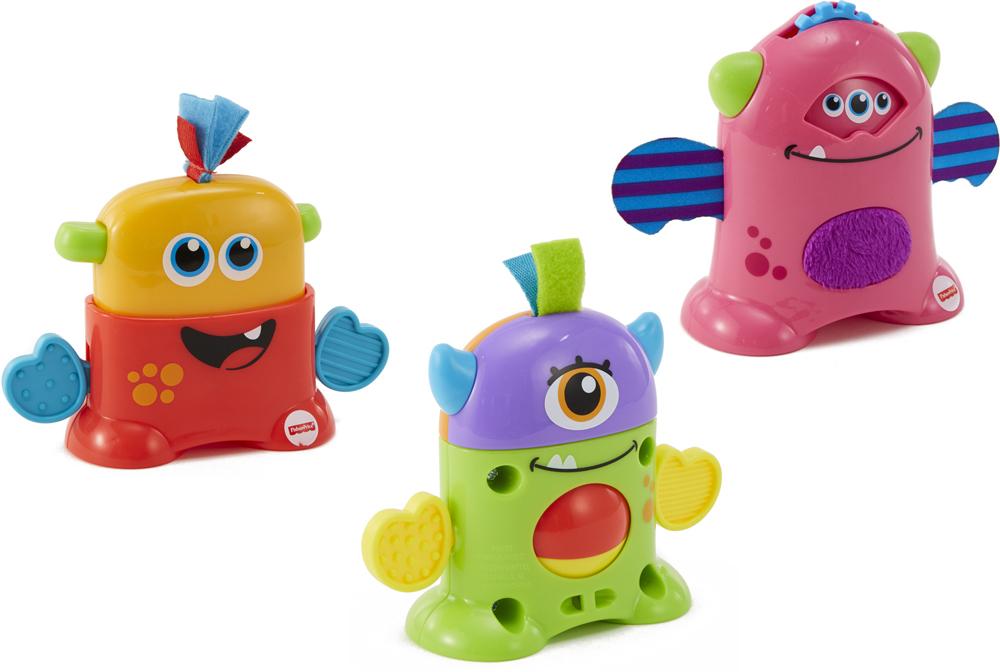 Развивающая игрушка Fisher-Price Infant Toys Мини-монстрик mattel развивающая игрушка fisher price мини монстрики красный