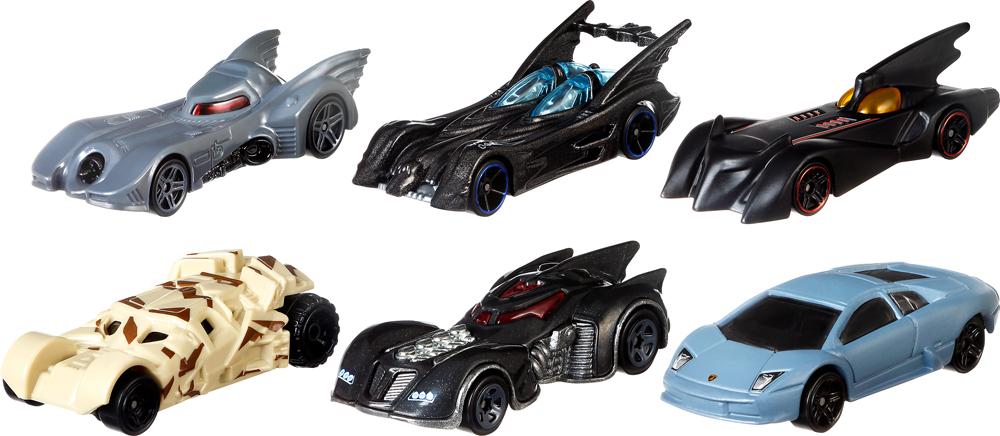 Hot Wheels Трековые машинки Бэтмен