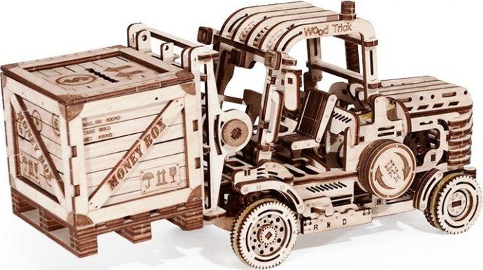 Механический конструктор из дерева Wood Trick Погрузчик