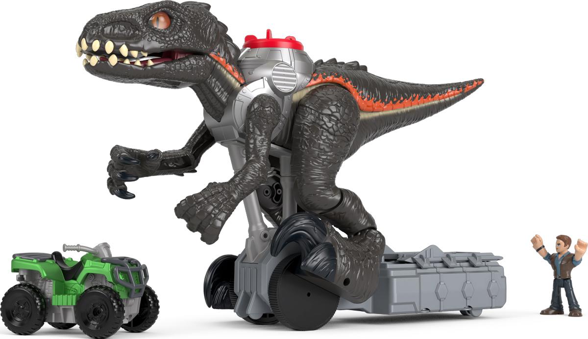 Imaginext Интерактивная игрушка Jurassic World Гигантский роботизированнй динозавр imaginext интерактивная игрушка jurassic world гигантский роботизированнй динозавр