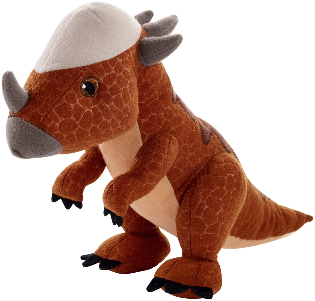 Jurassic World Мягкая игрушка Динозавр Stygimoloch Stiggy 18 см imaginext интерактивная игрушка jurassic world гигантский роботизированнй динозавр