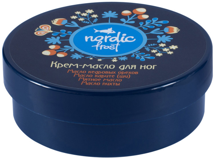 Modum Крем-масло для ног Nordic Frost, 100 г