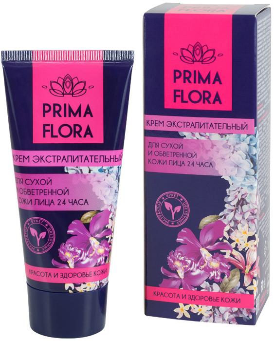 ModumКрем экстрапитательный для сухой и обветренной кожи лица 24 часа Prima Flora, 50 г Modum