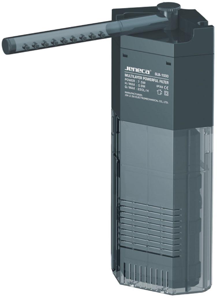Фильтр внутренний Aleas, угловой, с флейтой, 220 л/ч фильтр для аквариума barbus wp 310f внутренний с регулятором и флейтой 200 л ч