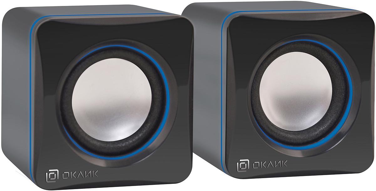 Компьютерная акустика Oklick OK-330, Black цена