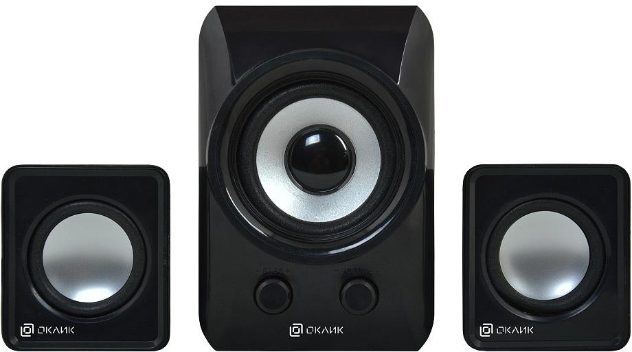 лучшая цена Компьютерная акустика Oklick OK-420, Black