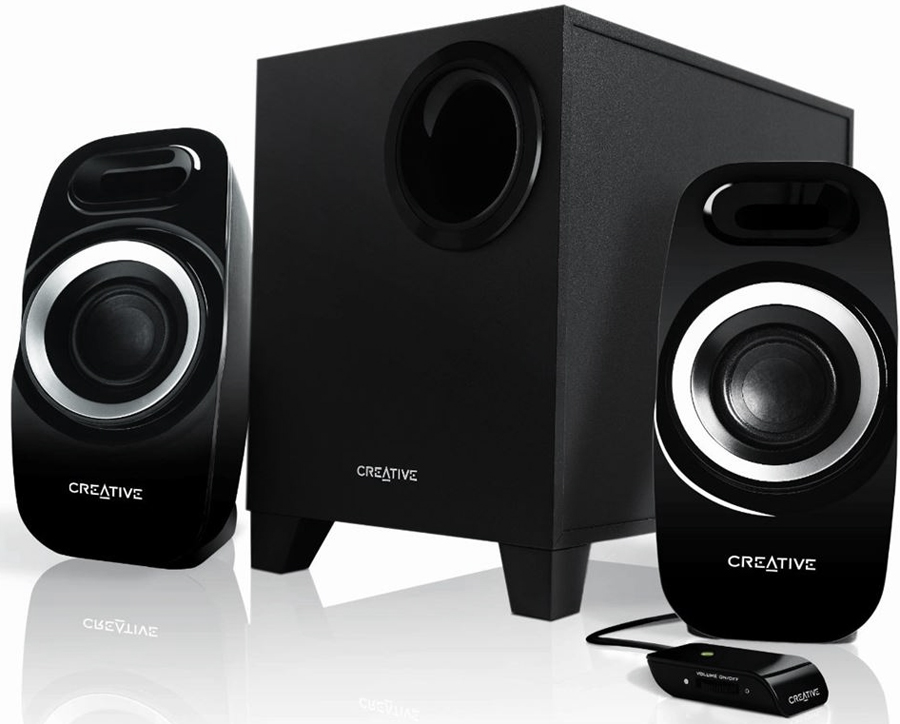 Компьютерная акустика Creative Inspire T3300, Black акустическая система creative inspire t6300 5 1 black 51mf4115aa000 черный