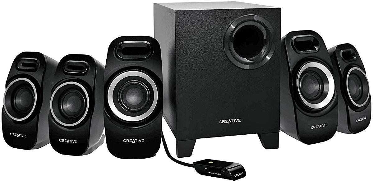 Компьютерная акустика Creative Inspire T6300, Black 5 1 колонки creative inspire t6300 22 5 7w black