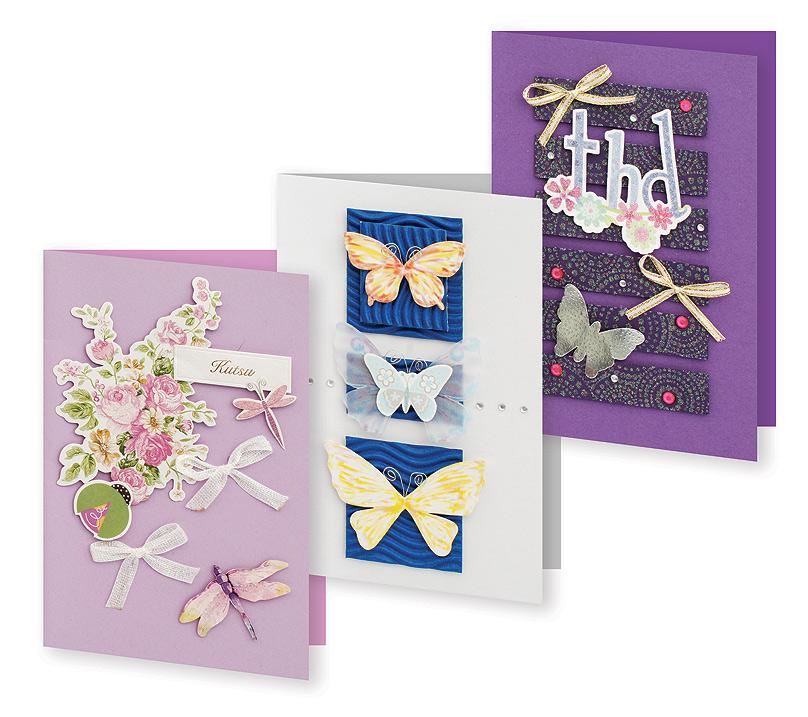 Набор для создания открыток Белоснежка Сюита, 3 шт набор для создания открыток белоснежка атласные ленты 3 шт