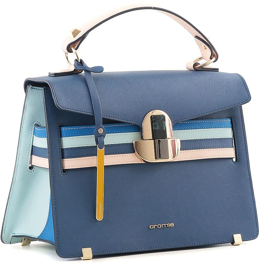 c2004b4bf2bf Сумка женская Cromia, цвет: синий. 700 — купить в интернет-магазине OZON.ru  с быстрой доставкой