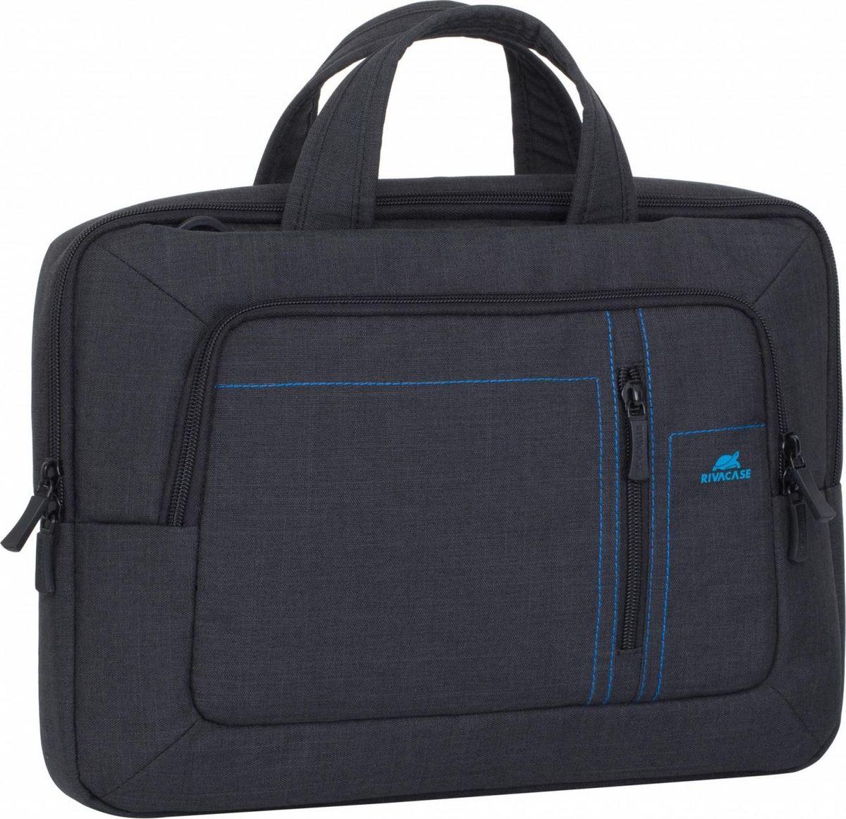 """RivaCase 7520, Black сумка для ноутбука 13,3"""""""