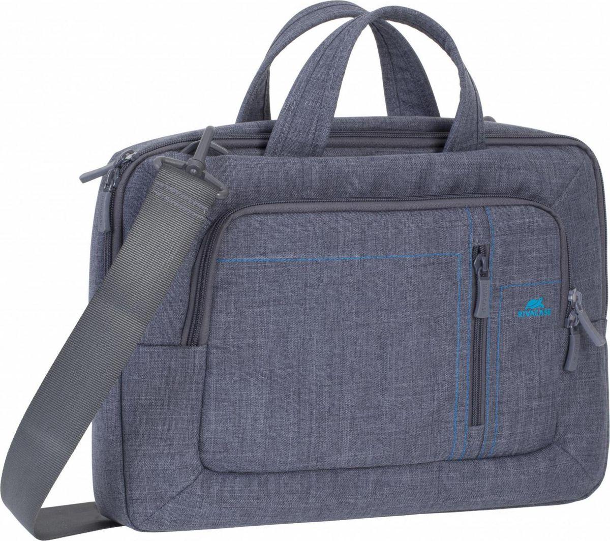 "RivaCase 7520, Grey сумка для ноутбука 13,3"""
